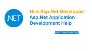 Hire Asp.Net Developer:  Asp.Net Application  Development Help