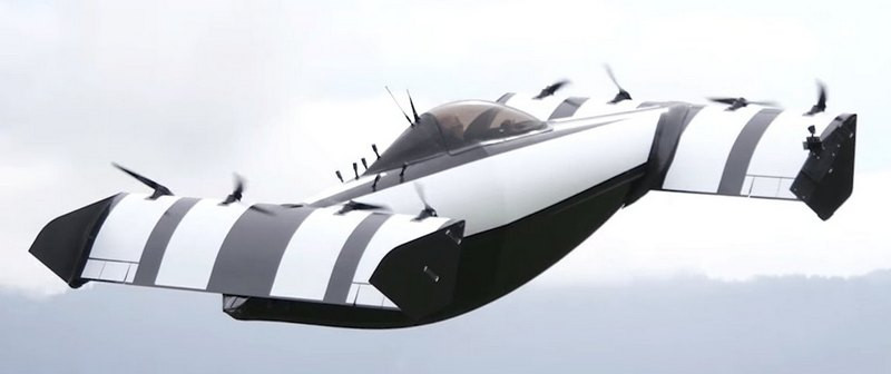 Летающий автомобиль BlackFly | Rock Auto Club