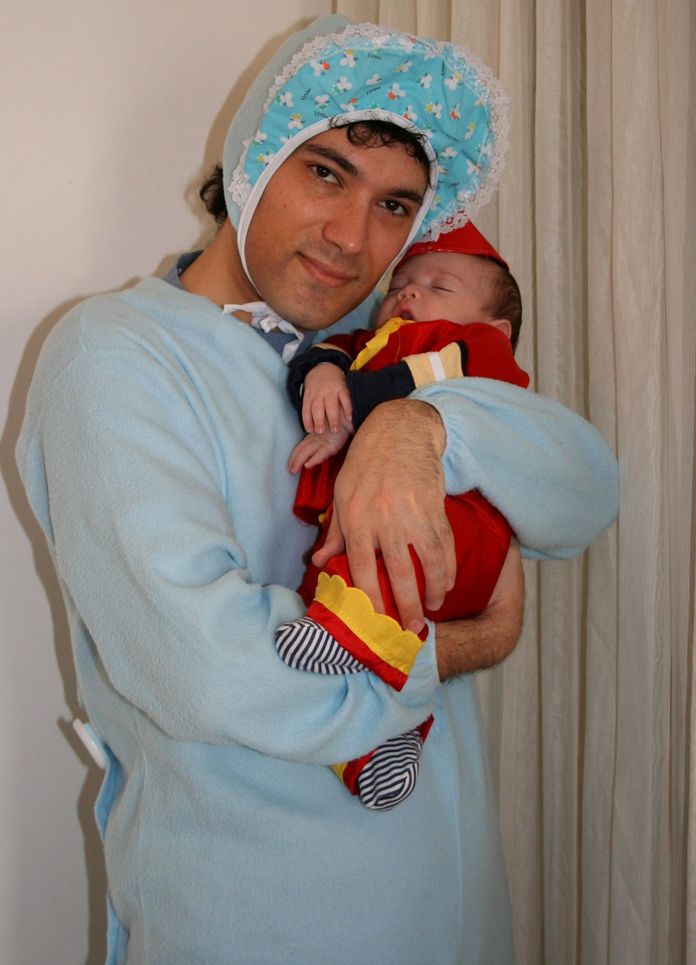 Two Babies, Purim, long time ago...