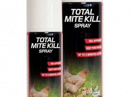 Parasite Control: Nettex Total Mite Kill Spray (aerosol)