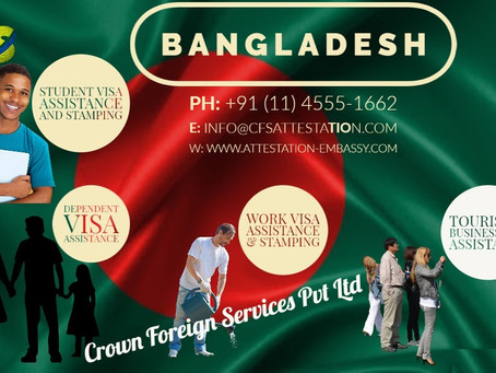 Bangladesh Visa Assistance and Stamping