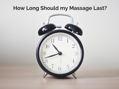 How Long Should My Massage Session Last?