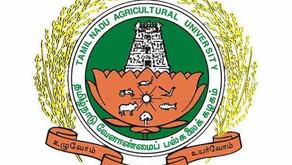 Tamilnadu Agricultural University UG admission 2020-21 online application date extended