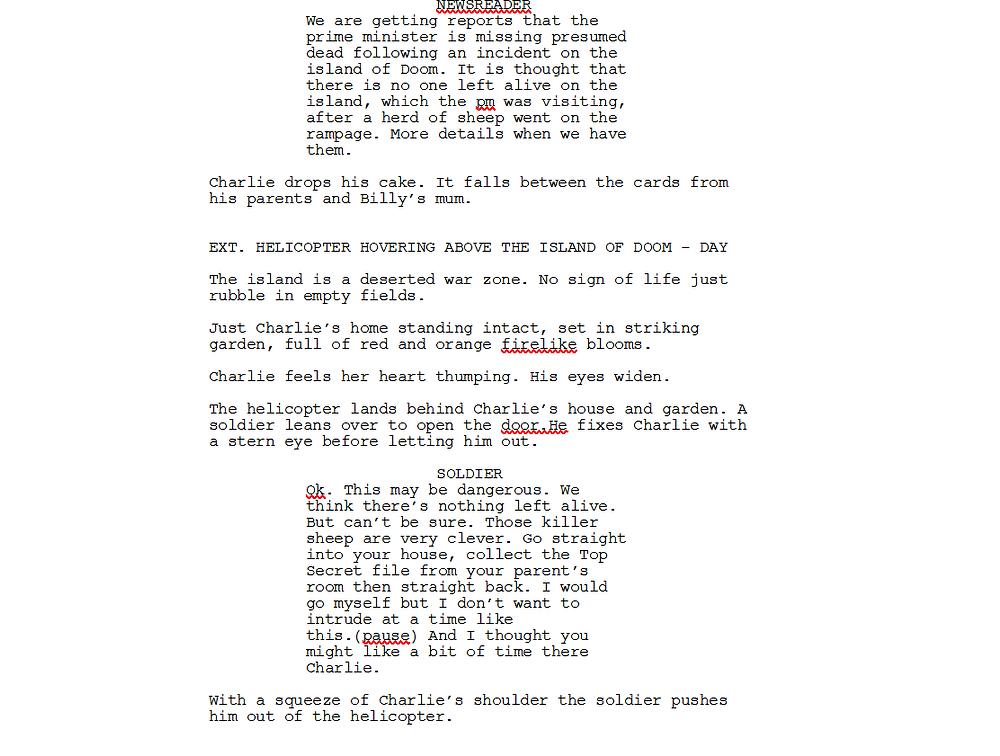A little less wordy excerpt from Slugs of Doom