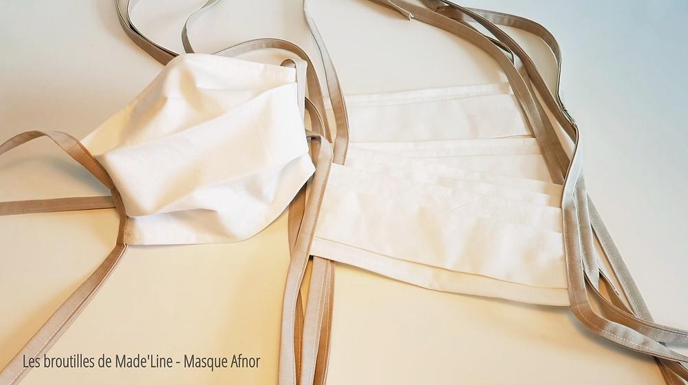 Masque barrière AFNOR SPEC S76-001 - Les Broutilles de Made'Line