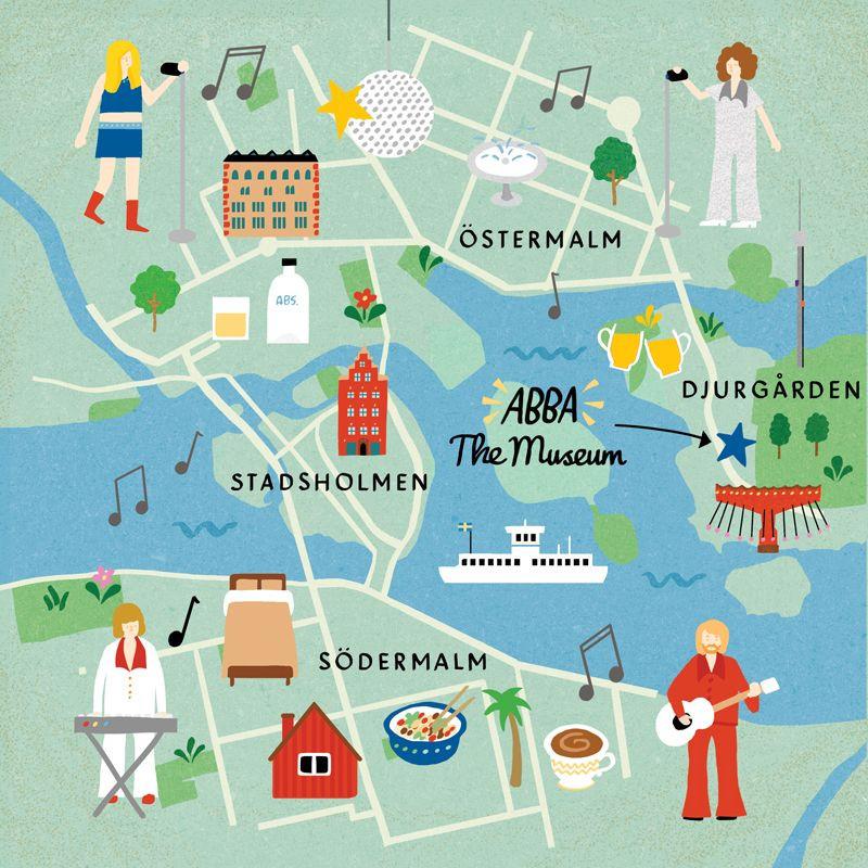 3 jours stockholm carte