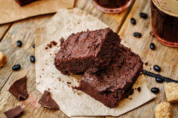 Čokoládové Brownies z fazolí