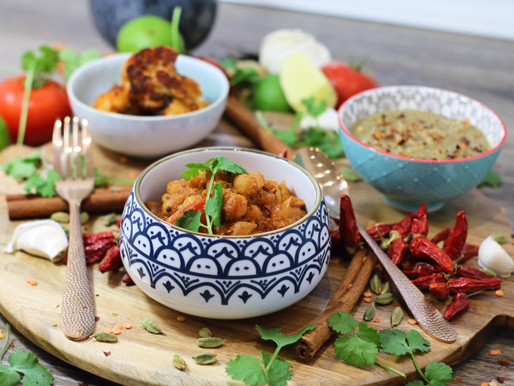 Vegan Chick Pea Curry