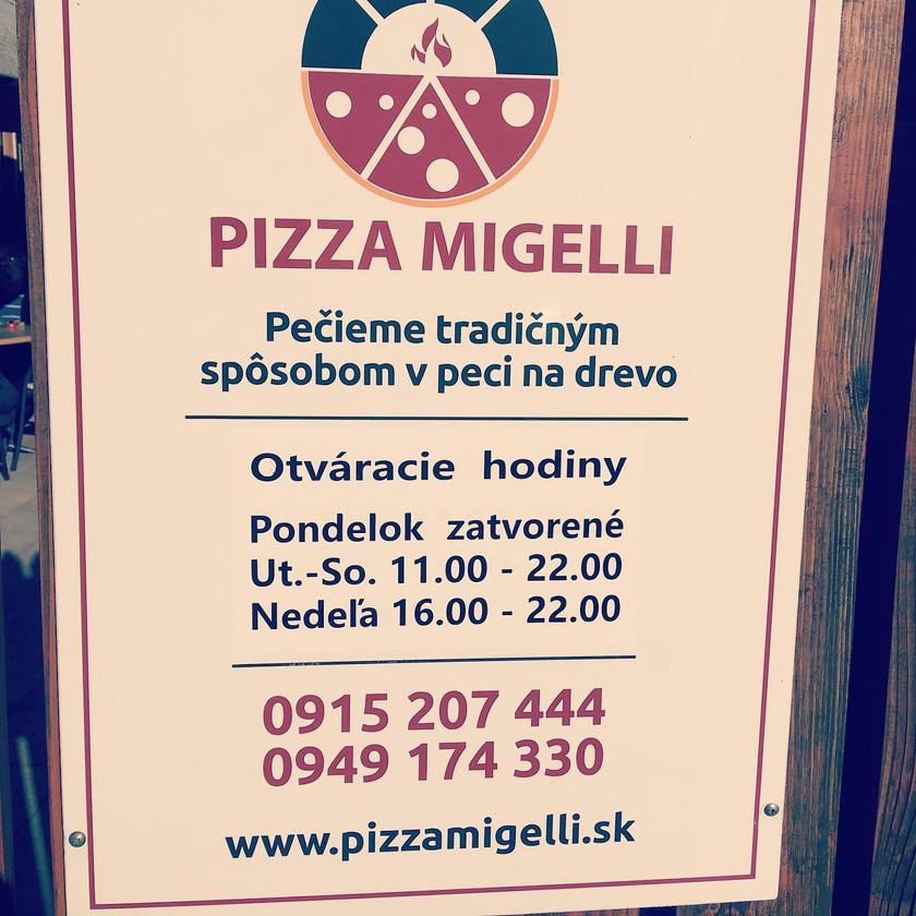 Simeon, Pizza Migelli