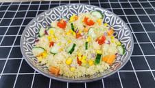 10 Minute Rainbow Couscous