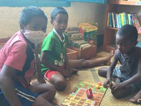 Retour des activités... que le matin et pour seulement 50 enfants à la fois, mais c'est déjà ça!
