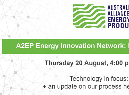 WATCH: Energy Innovation Network Briefing - Biogas technologies