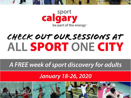 Chinook Kendo joint with Sport Calgary for All Sport One City 2020