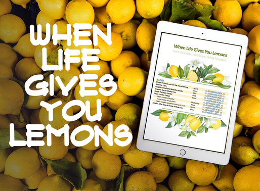 Lemons: How We Raised $80k and Got 60+ New Donors by Canceling a Banquet