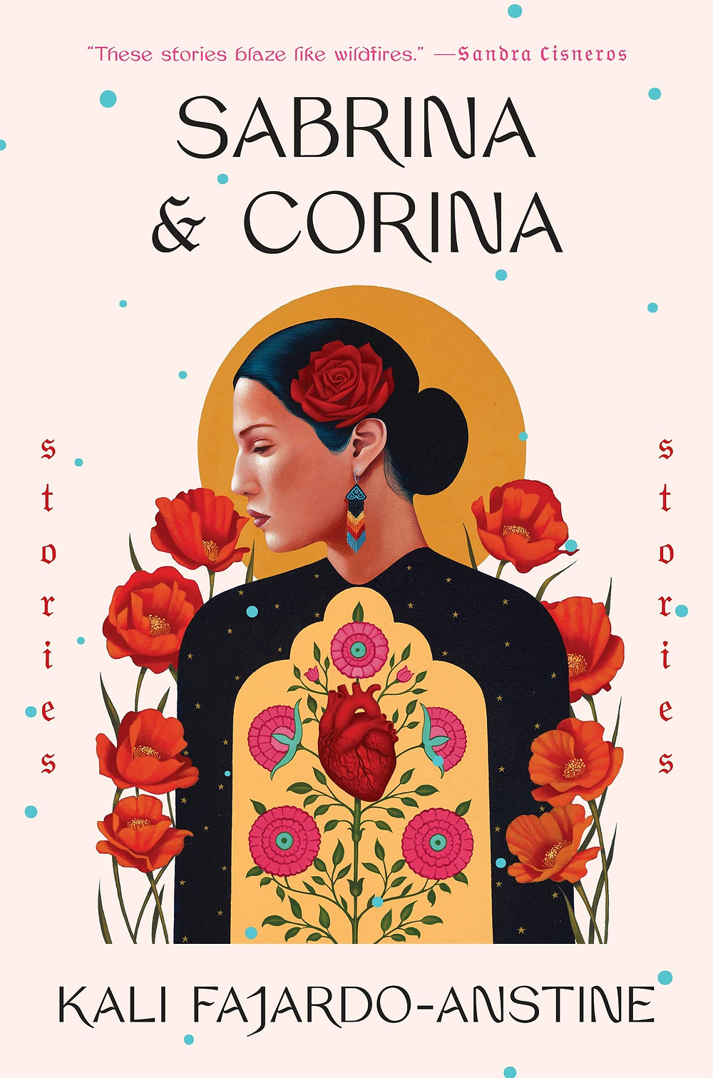 Sabrina & Corina by Kali Fajardo-Anstine : the book slut book reviews thebookslut best floral book covers valentines day books