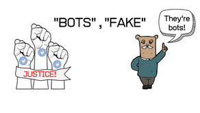 """Twitter strongly reacted against users being called out as """"bots"""""""