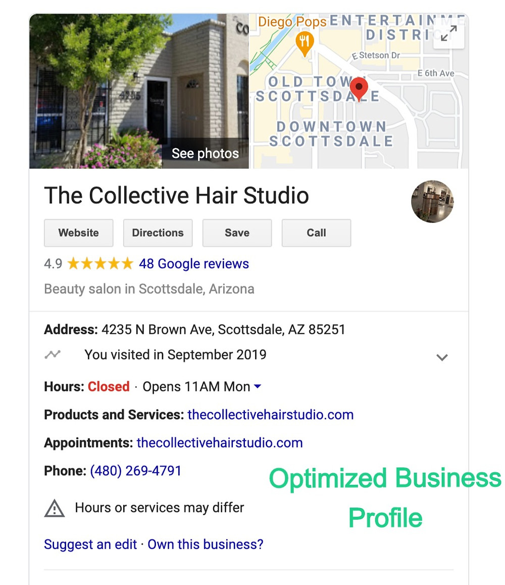 The Collective Hair Studio Business Listing