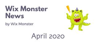 מה חדש בוויקס - אפריל 2020
