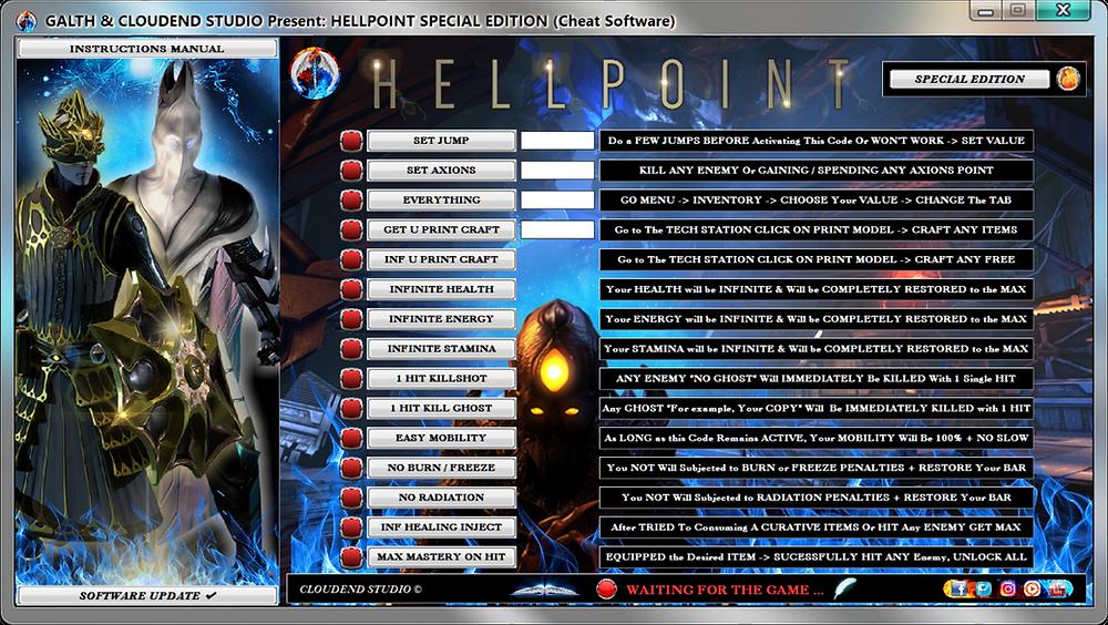 cloudend studio, Hellpoint, Hellpoint Cheats, Hellpoint Trainer, Hellpoint Mod, Darksouls 3, Darksouls Remastered, Dark Rpg, Soulslike, cheats trainer, super cheats, cheats, trainer, codes, mod, tips, steam, pc, cheat engine, cheat table, save editor, free key, tool, game, dlc, fearless revolution, wemod, fling trainer, mega dev, mega trainer, rpg, achievements, cheat happens, 騙す, チート, 作弊, tricher, tricks, engaños, betrügen, trucchi, news, ps4, xbox, Youtube Game, hack, glitch, walkthrough,