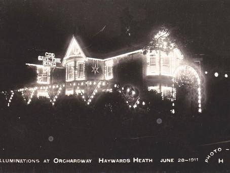 1911: Haywards Heath celebrates King George V coronation in style