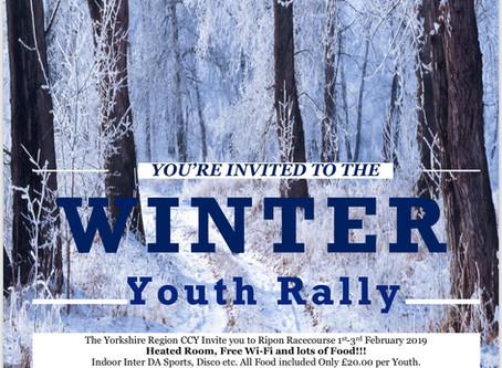Yorkshire Region Winter Youth Rally 2019