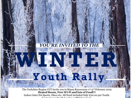 Yorkshire Region Winter Youth Rally 2019