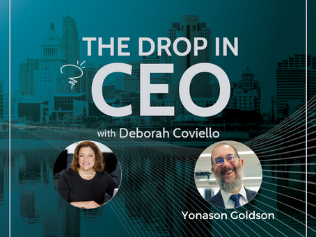 The Drop-In CEO podcast interview