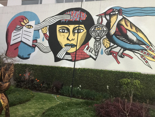 wallpainting in quito 2018
