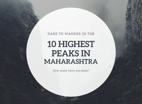 10 highest peaks of Maharashtra