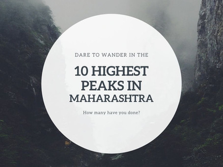 10 highest peaks of Maharashtra