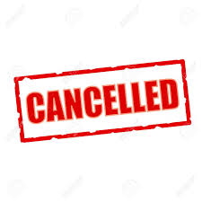 Monday practice July 1st cancelled.