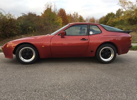 Wolfgangs Porsche 944