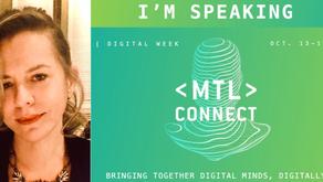 MTL Connecte : 2e edition de la semaine numérique de Montréal du 13 au 18 octobre 2020, 100% online