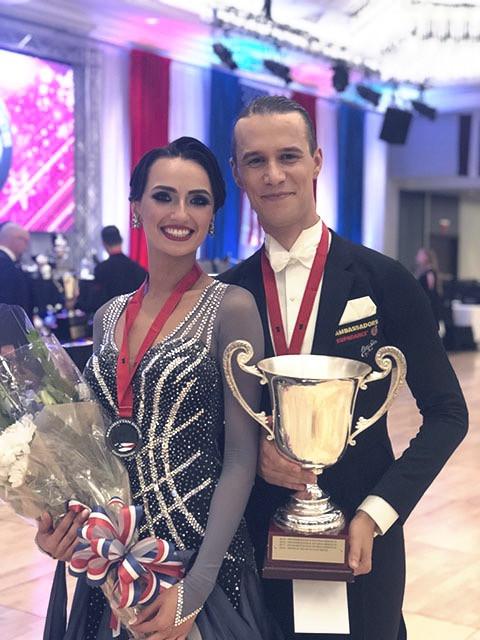 Winning Manhattan Dancesport Championship 2019