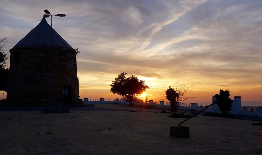 Molino de Santa Inés and viewpoint
