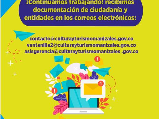 INSTITUTO DE CULTURA TIENE A DISPOSICIÓN CANALES ELECTRÓNICOS PARA RECEPCIÓN DE DOCUMENTOS