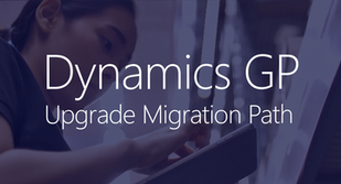 April 23 | Dynamics GP Upgrade Migration Paths Webinar