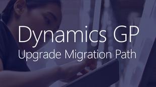 April 23   Dynamics GP Upgrade Migration Paths Webinar