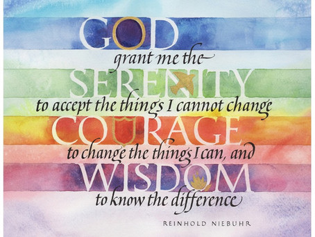 Thoughts on the Serenity Prayer