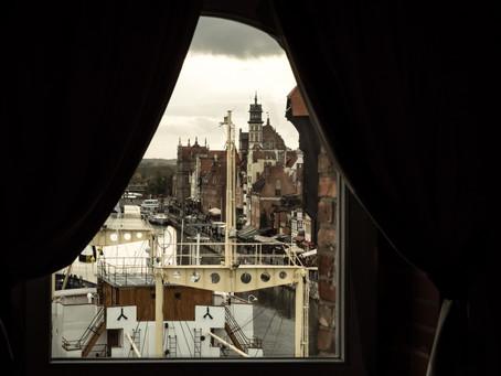 Jesienny widok na Gdańsk
