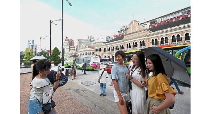 นักท่องเที่ยวจีนเข้ามาเลเซียเพิ่มขึ้น ต้นปี 2019