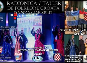 Taller de folklore croata en Mar del Plata