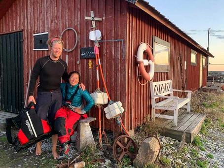 Seglar för att bevara Östersjöns natur och hav