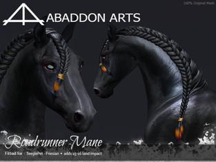 ABADDON ARTS - Roadrunner Mane