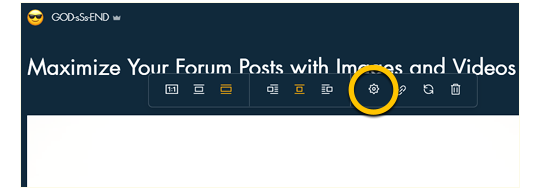 How to Title and Tag Your Wix Forum Images on the Easy Company 506th Website.