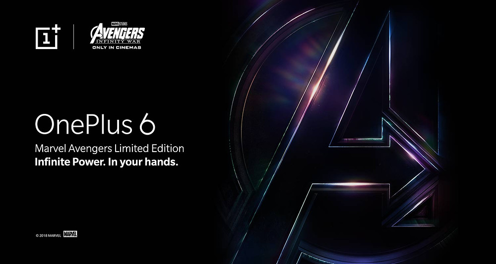 One Plus 6 Avengers Edition, Limited Edition