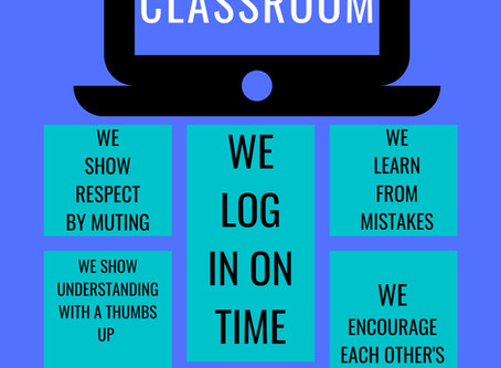 FREE Virtual Classroom Expectations