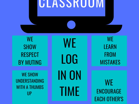 FREE Virtual Classroom Expectations