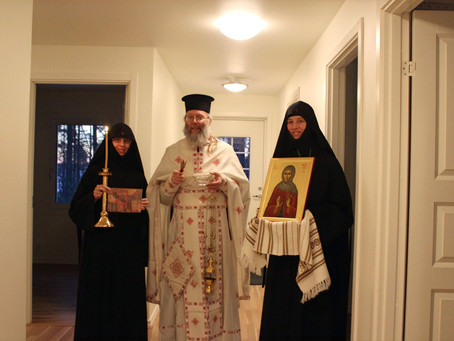 """""""Entering"""" Our New Cells on the Feast of the Entrance of the Theotokos into the Temple"""