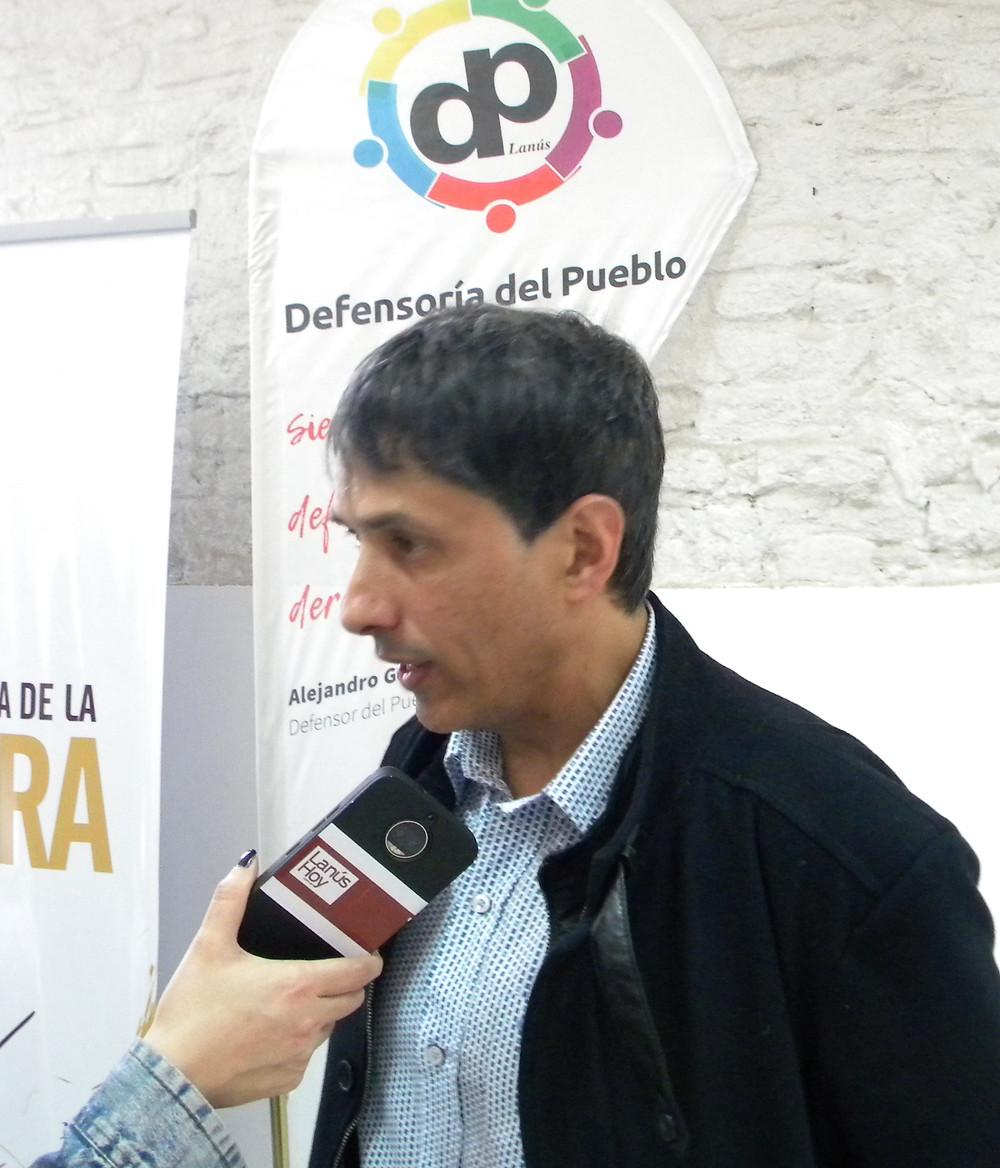 Dr. Alejandro Gorrini, Defensor del Pueblo de Lanús